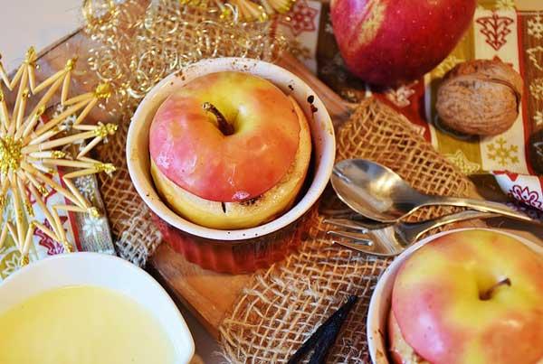Bratapfel - Vitamine zur Weihnachtszeit